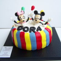Mickey ve Minnie Mouse Pasta